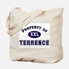 Property of terrence Tote Bag