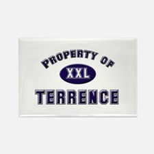 Property of terrence Rectangle Magnet