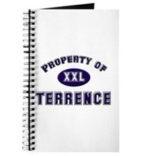 Property of terrence Journal