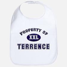 Property of terrence Bib
