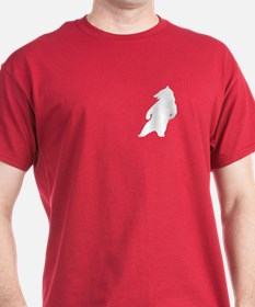 WHITE DANCING BEAR PKT T-Shirt