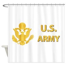 US Army Shower Curtain
