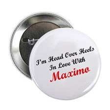 "In Love with Maximo 2.25"" Button (100 pack)"