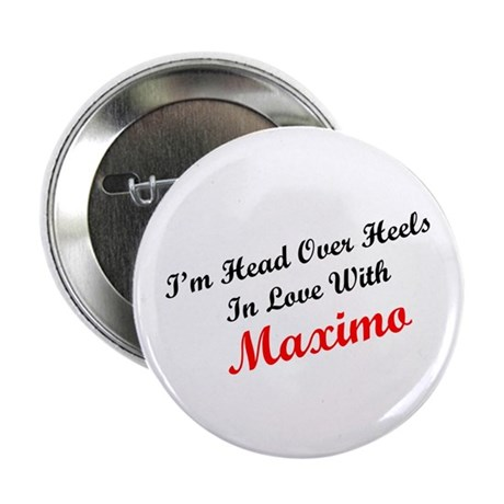 """In Love with Maximo 2.25"""" Button (10 pack)"""