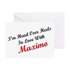 In Love with Maximo Greeting Cards (Pk of 10)