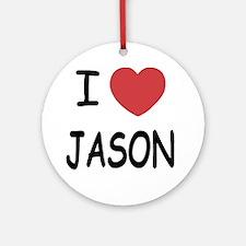 JASON Round Ornament