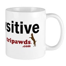 be pawsitive white Mug