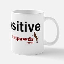 be pawsitive white Mug