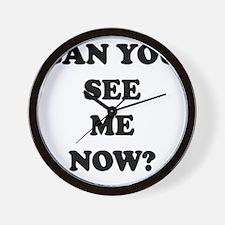 canyou-see-me Wall Clock