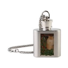 Rhodescatxmas Flask Necklace