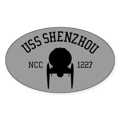 USS Shenzhou Athletic Style Sticker