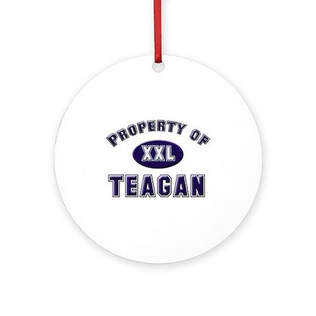 Property of teagan Ornament (Round)