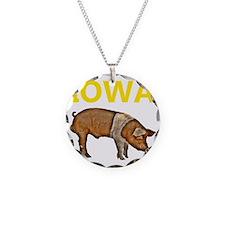 IOWA pig transp.gif Necklace