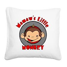 mamawsmonkeyboy Square Canvas Pillow