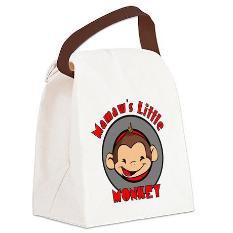 mamawsmonkeyboy Canvas Lunch Bag