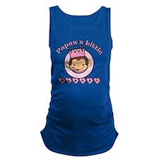 Papaws little monkey (girl) Maternity Tank Top