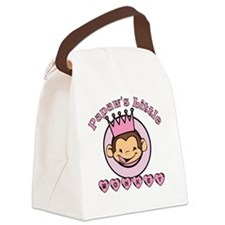 Papaws little monkey (girl) Canvas Lunch Bag