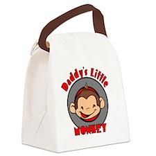 2-DADDYSMONKEYBOY Canvas Lunch Bag