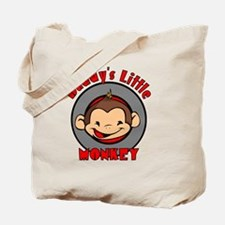 2-DADDYSMONKEYBOY Tote Bag