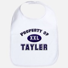 Property of tayler Bib