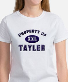 Property of tayler Women's T-Shirt