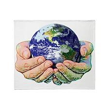 WORLD FULL SIZE Throw Blanket