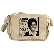 NancyP_POSSE_flat Messenger Bag