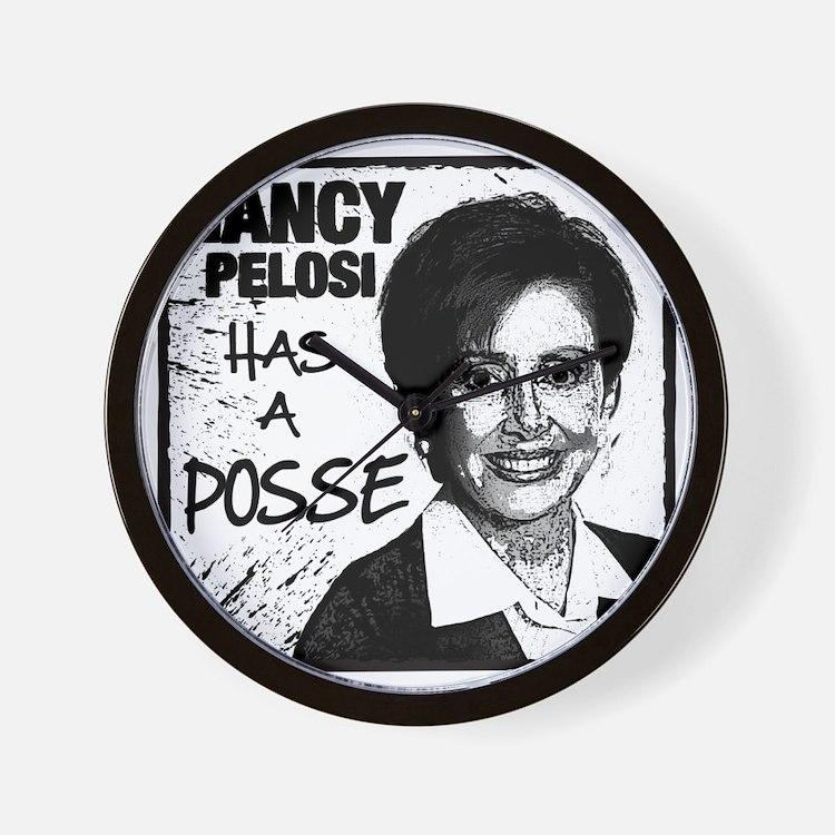 NancyP_POSSE_flat Wall Clock