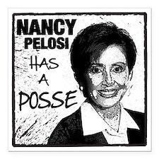 "NancyP_POSSE_flat Square Car Magnet 3"" x 3"""