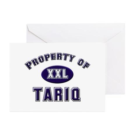 Property of tariq Greeting Cards (Pk of 10)