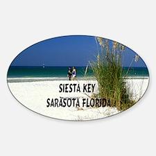 Siesta Key 15.35x15.35 Decal