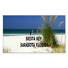 Siesta Key 15.35x15.35 Decal