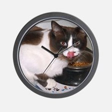 TootsEating Wall Clock