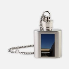 Lewis and Clark National Historic T Flask Necklace