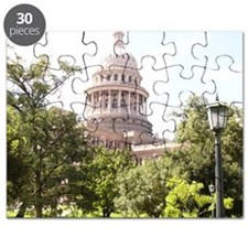 Austin State Capitol Building Puzzle
