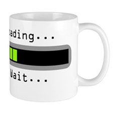 brain-loading Small Mug