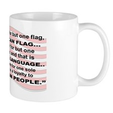 2-WE HAVE ROOM BUT FOR BUT ONE FLAG THE Mug