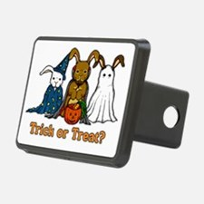 Halloween Rabbits Hitch Cover