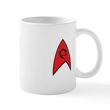 New TrekkieD Red White Mug