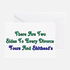 Divorce Greeting Cards (Pk of 10)