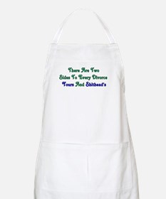 Divorce BBQ Apron