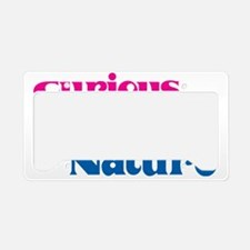 CuriousBi License Plate Holder