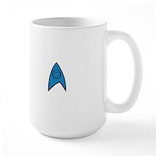 New TrekkerD Blue White Mug
