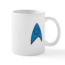 New TrekkieD Blue White Mug