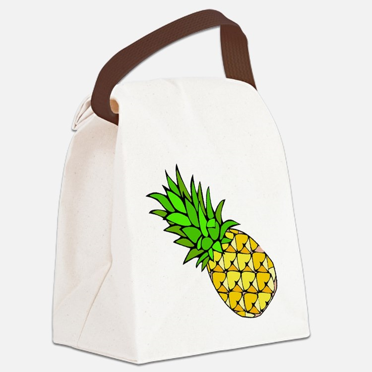 Psych - Pineapple.gif Canvas Lunch Bag
