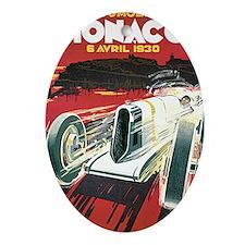 Monaco Grand Prix 1930 1 Oval Ornament