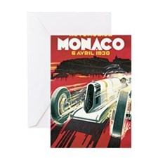 Monaco Grand Prix 1930 1 Greeting Card