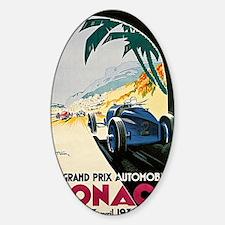 Monaco 5th Grand Prix Automobile 19 Decal
