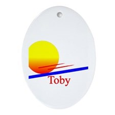 Toby Oval Ornament