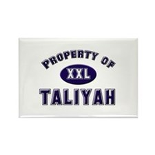 Property of taliyah Rectangle Magnet